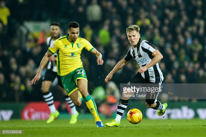 Newcastle United agree fee for Norwich City's Jacob Murphy
