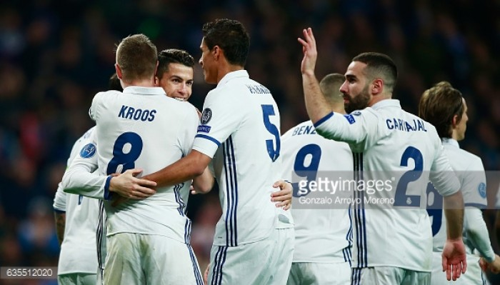 Real Madrid 3-1 Napoli: Madrid come from behind to earn first-leg lead over Napoli