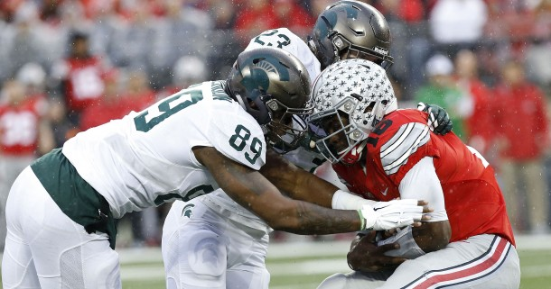 Late Field Goal And Great Defense Propels Michigan State Past Ohio State In Major Big 10 Clash
