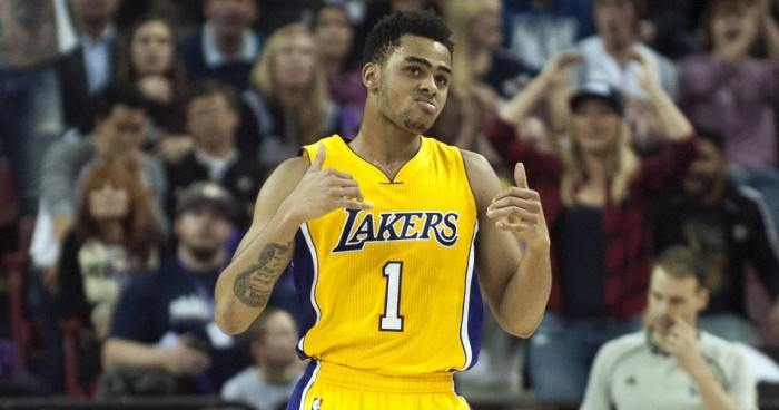 D'Angelo Russell's Breakout Performance Shows Promise For Los Angeles Lakers