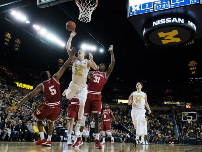Indiana Hoosiers Big Ten Tournament Starts With Michigan Wolverines