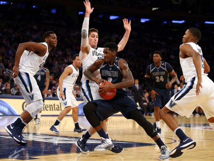 Big East Tournament: Villanova Wildcats End Georgetown Hoyas' Dismal Season