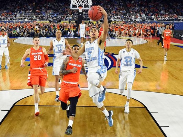 No. 1 North Carolina Tar Heels Pull Away From No. 10 Syracuse Orange, 83-66, To Advance To Title Game