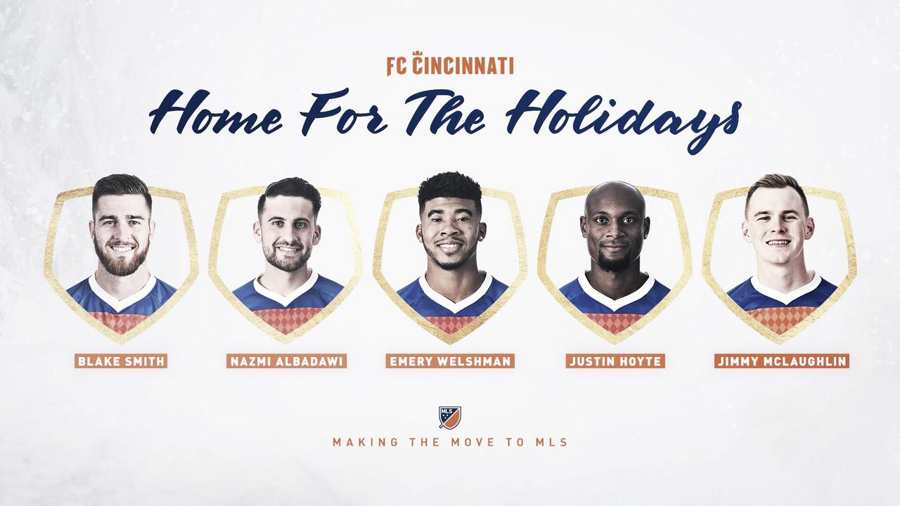 FC Cincinnati firma un re-poker de jugadores