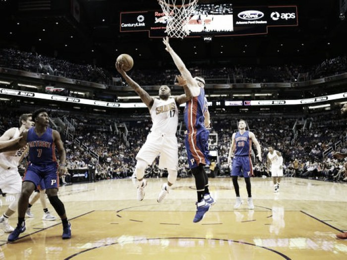 Eric Bledsoe leads the Phoenix Suns past the Detroit Pistons