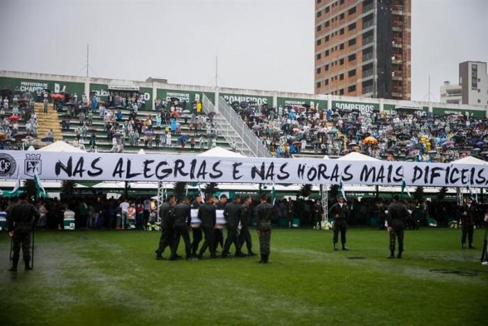 Chapecoense vs Nacional será en el Arena Condá