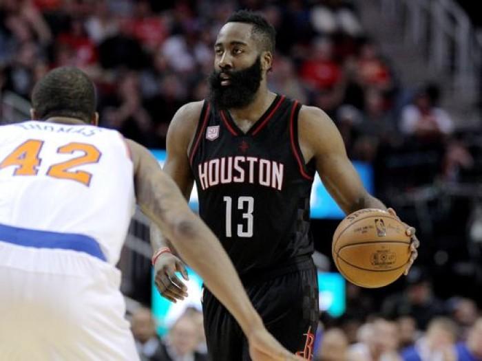 NBA - Extraterrestre Harden, Houston non conosce soste e batte anche i Knicks (129-122)