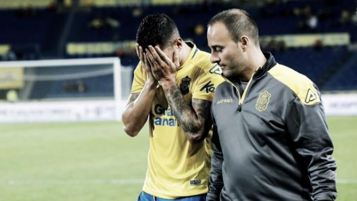 Tratando de lesão, Vitolo chegará ao Atletico de Madrid antes do previsto