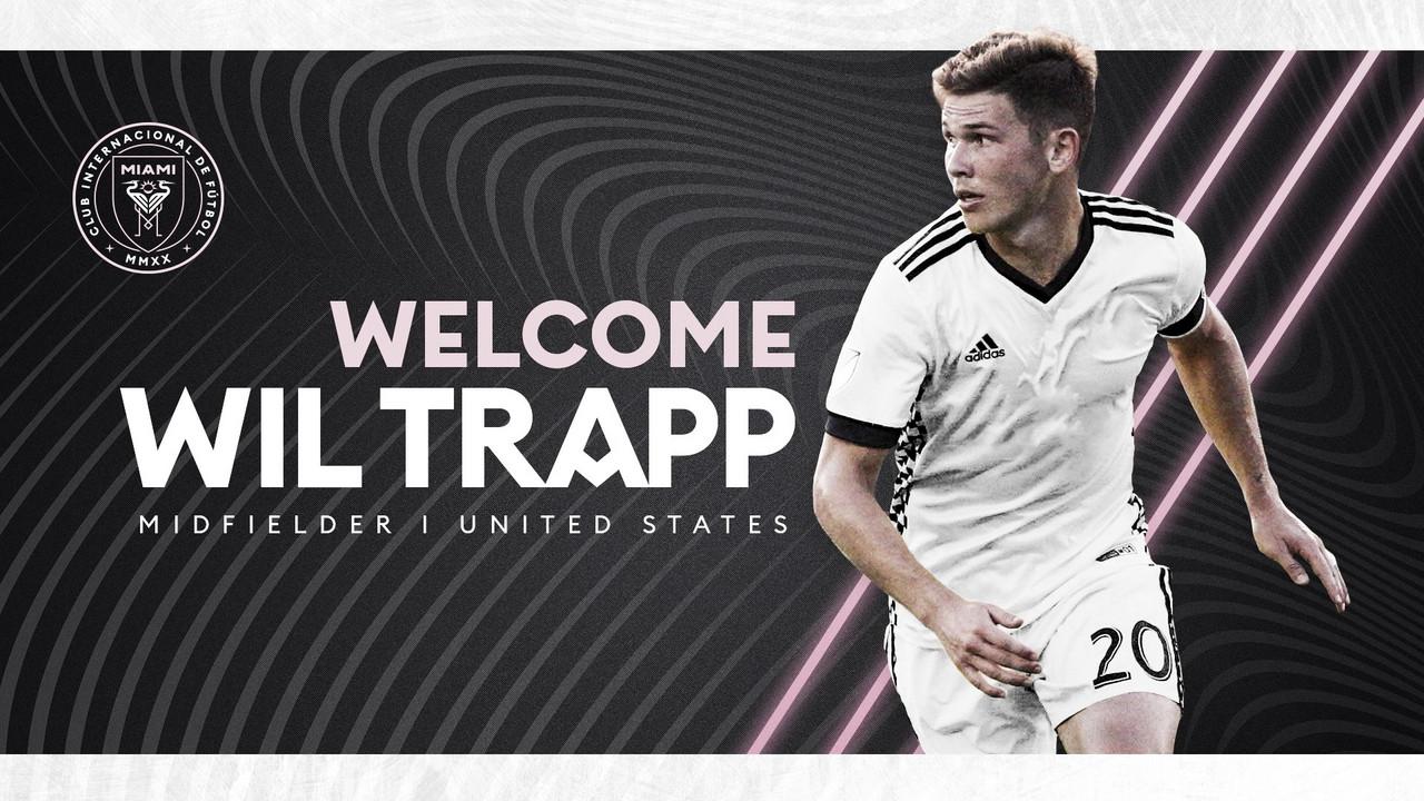 Trapp se une a Inter Miami CF