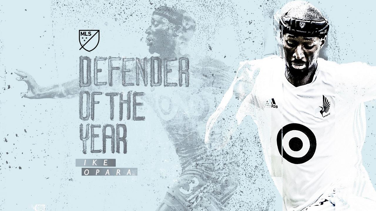 Ike Opara, MLS Mejor Defensa del Año 2019