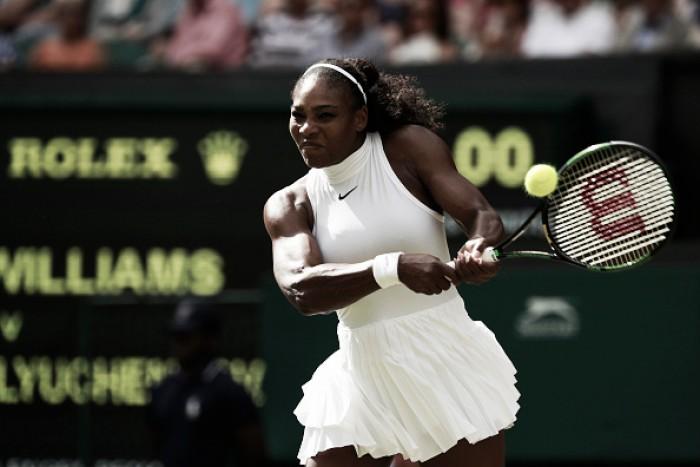 Serena vence Pavlyuchenkova e avança para a sua décima semifinal em Wimbledon