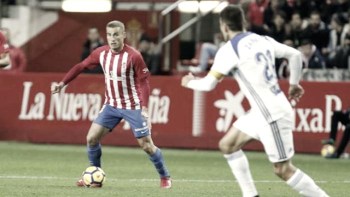 Puntuaciones Sporting de Gijón - Real Zaragoza; jornada 17 de LaLiga 123