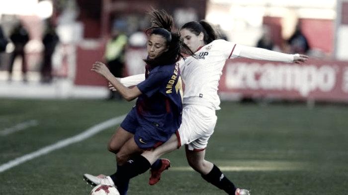 El Sevilla Femenino no puede con el imparable FC Barcelona