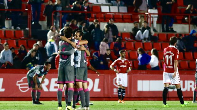 Excelentes números del Granada CF fuera de casa