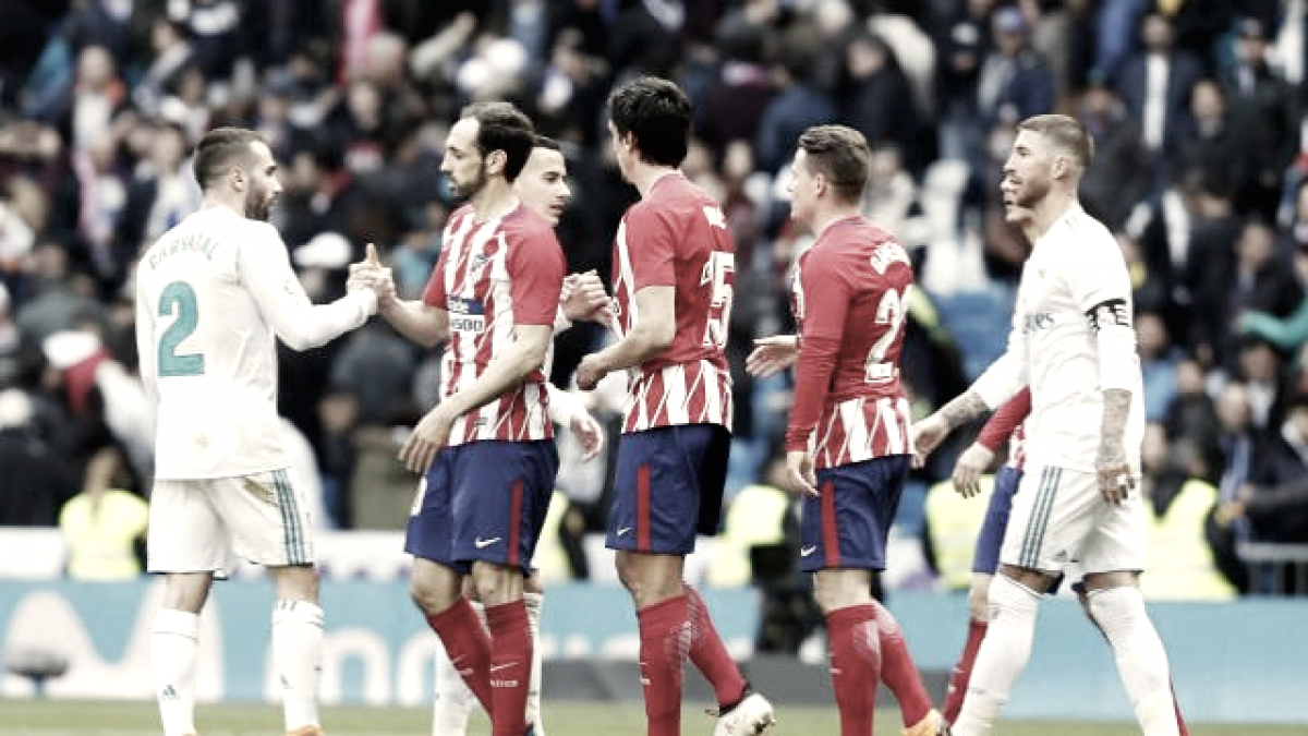 Empate entre Real Madrid y Atlético que solo sirve al Barça