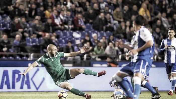Deportivo de la Coruña - CD Leganés: puntuaciones del CD Leganés, jornada 15 de La Liga