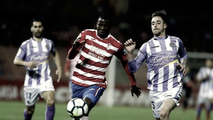 Una mala primera parte condena al Real Valladolid
