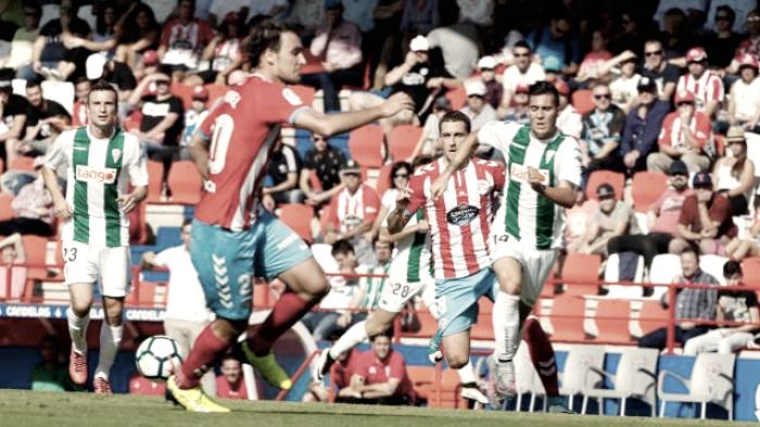 CD Lugo - Córdoba CF: puntuaciones del Córdoba CF, Jornada 9 de Segunda División