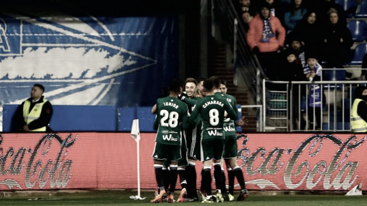 Deportivo Alavés - Real Betis: puntuaciones del Real Betis, jornada 28 de La Liga