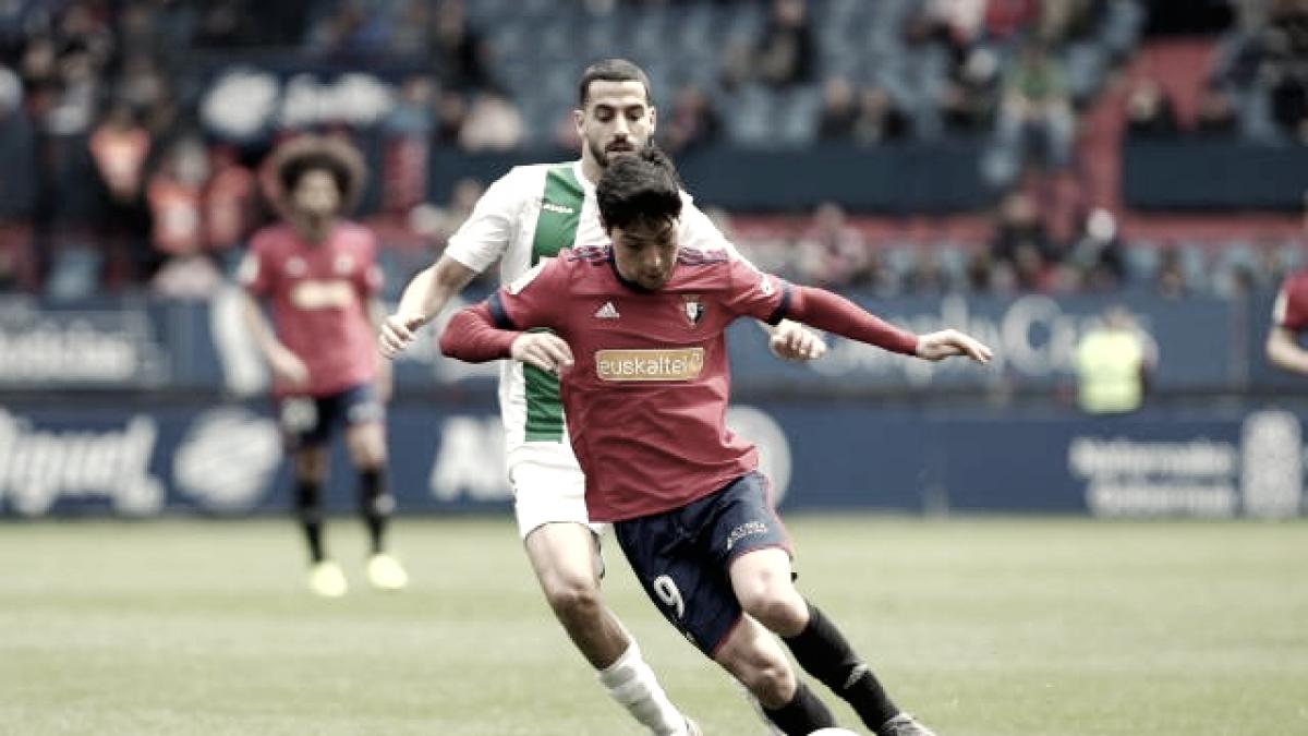 CA Osasuna - Córdoba CF: puntuaciones de Osasuna, jornada 35 La Liga 1|2|3