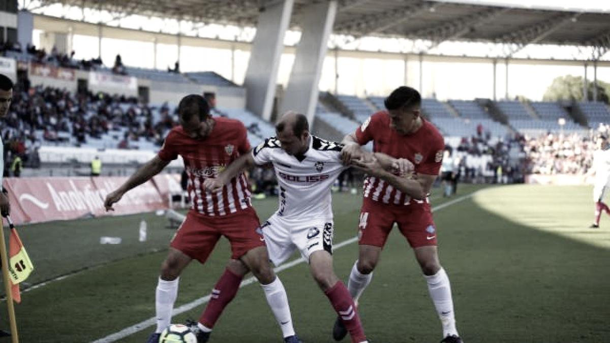 UD Almería - Albacete: puntuaciones UD Almería, LaLiga1|2|3, jornada 35