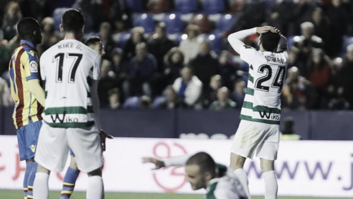 Eibar perde para Levante e fica mais longe de vaga na Europa League