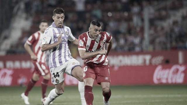 El Real Valladolid debutó en LaLiga sin delanteros y con un 0-0