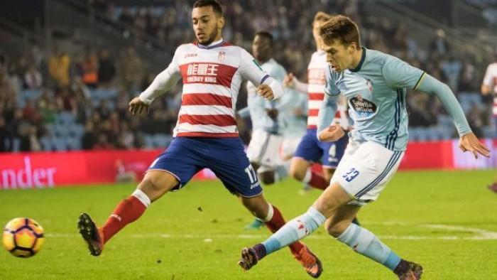 Celta de Vigo - Granada CF, puntuaciones del Granada CF, jornada 13