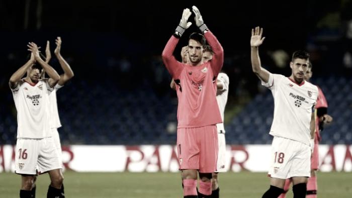 Getafe CF vs Sevilla FC: puntuaciones del Sevilla, jornada 2 de LaLiga Santander