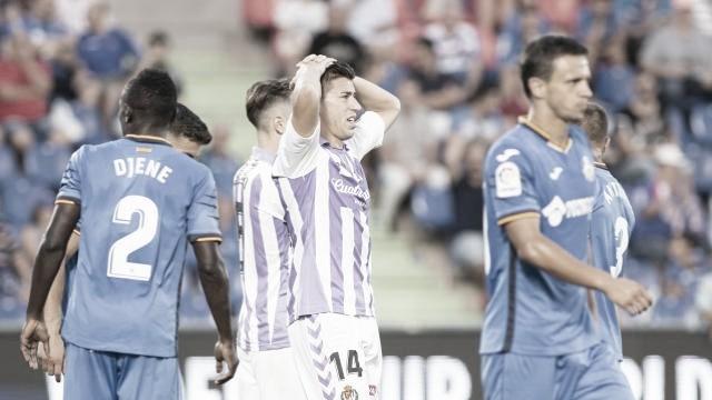 El Getafe no conoce la victoria en el José Zorrilla en Primera