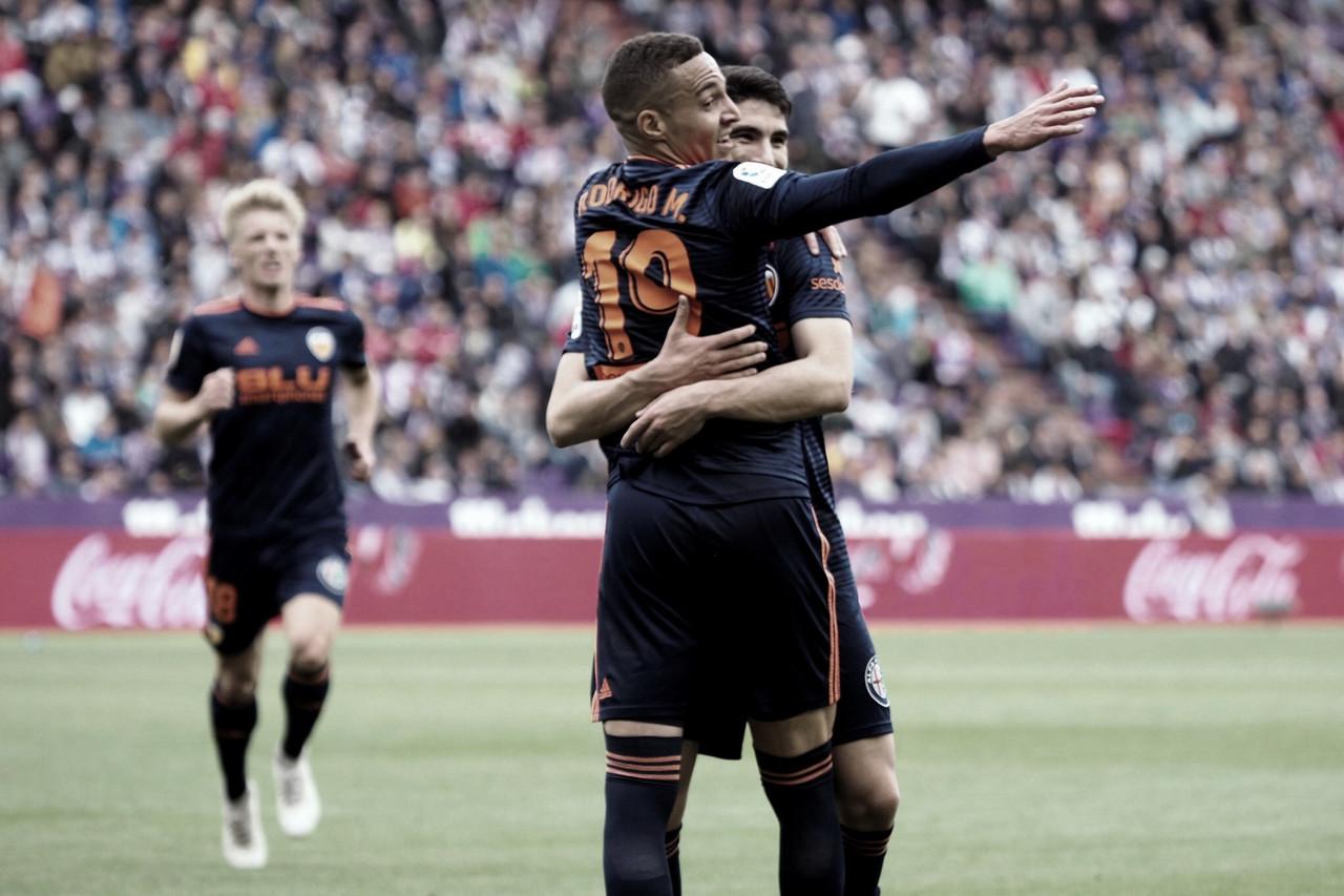 Valencia bate Valladolid e garante vaga na Champions League da próxima temporada