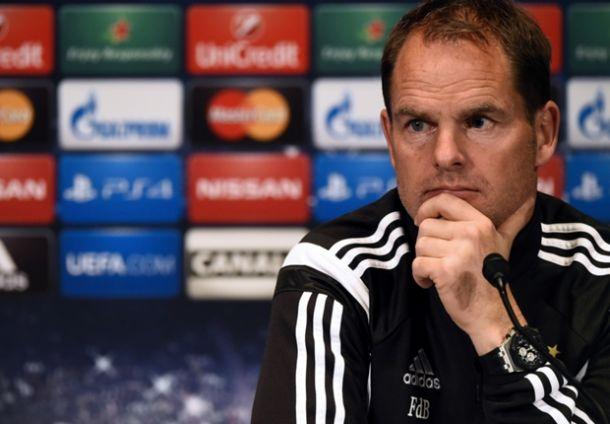 """Frank de Boer: """"Si había una noche para salir con los tres puntos era hoy"""""""