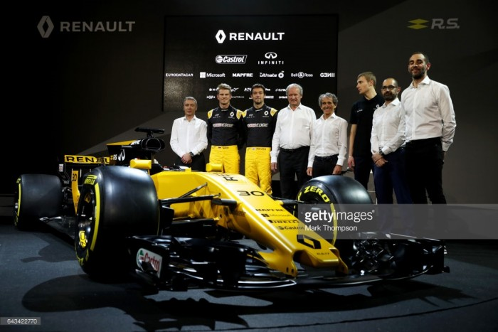 Renault F1 Team: 2017 Preview