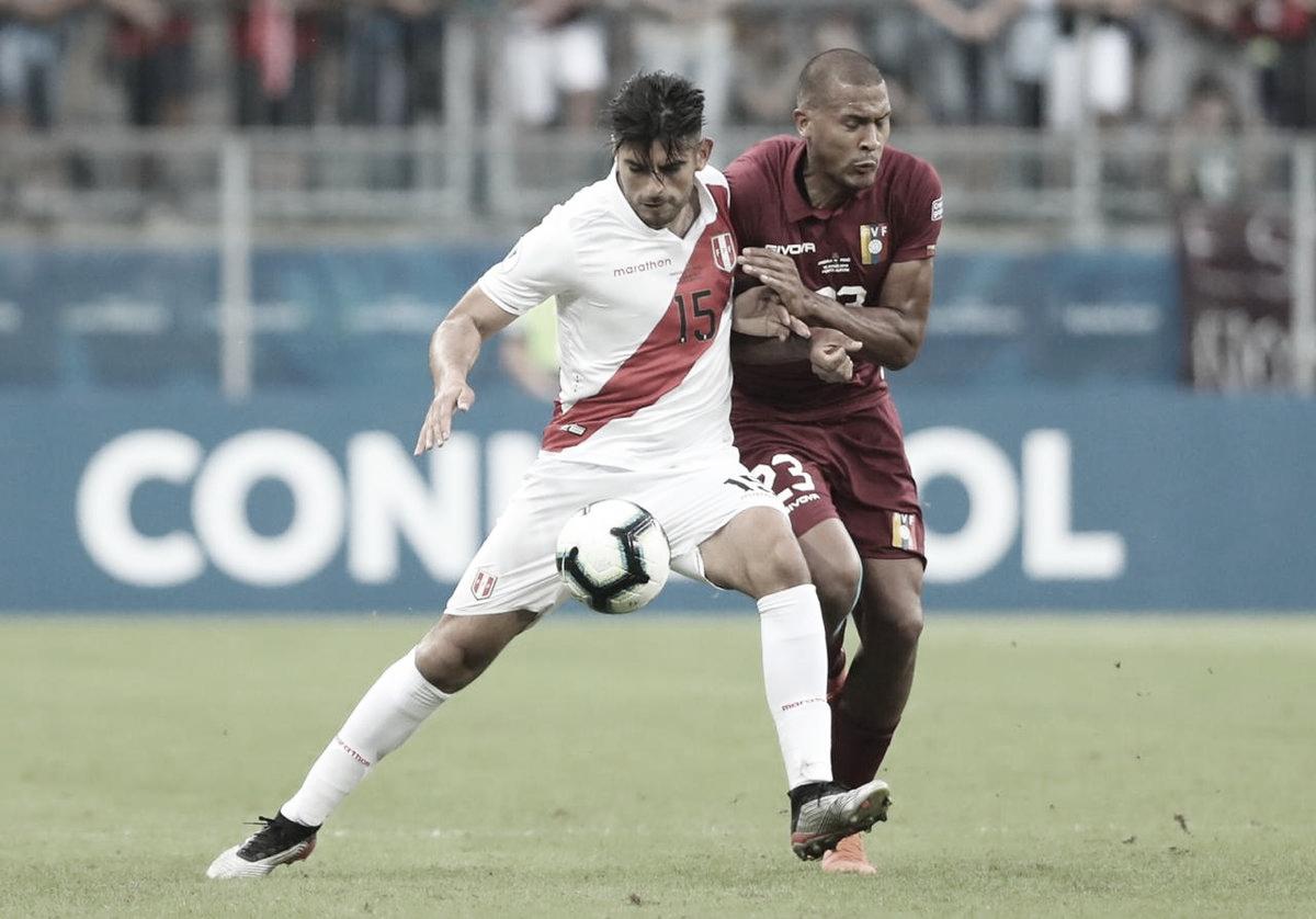 'Guerra fría' entre Perú y Venezuela que culmina con un tibio 0-0