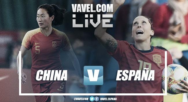 China 0-0 España en el Mundial Femenino de Francia 2019