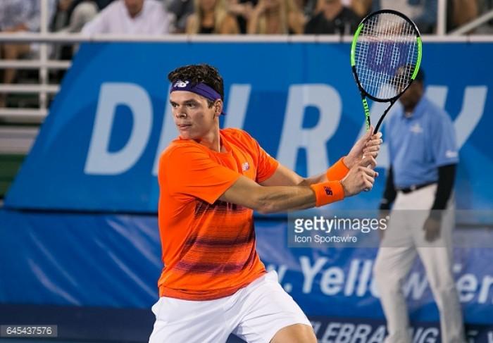 ATP Delray Beach Final Preview: Milos Raonic vs Jack Sock