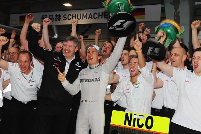"""Rosberg: """"Estoy muy emocionado, llevamos dos años esperando este momento"""""""