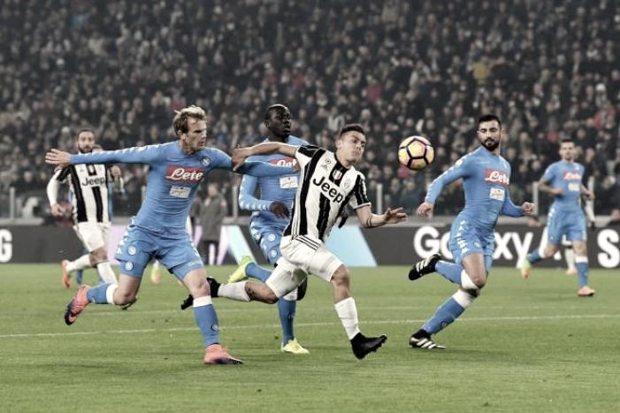 Napoli, sconfitta bruciante allo Stadium. Discorso qualificazione però ancora aperto