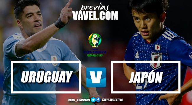 Uruguay busca cerrar su clasificación frente a Japón