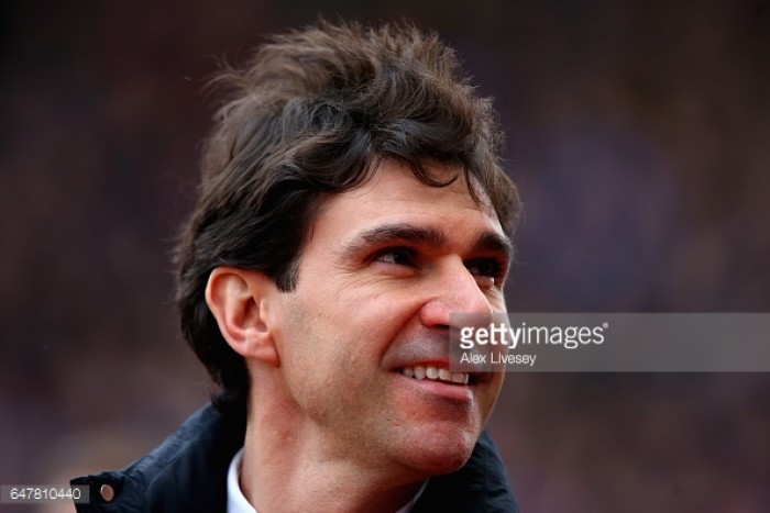 "Aitor Karanka looking to ""take the positive things"" after Manchester City FA Cup exit"