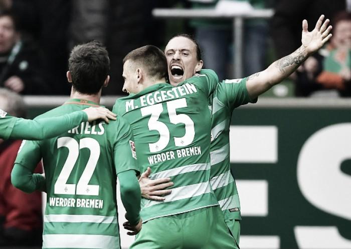 Werder Bremen vence lanterna Darmstadt e abre vantagem para zona de rebaixamento
