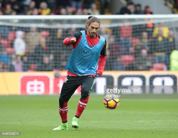Caceres in line for belated Saints debut