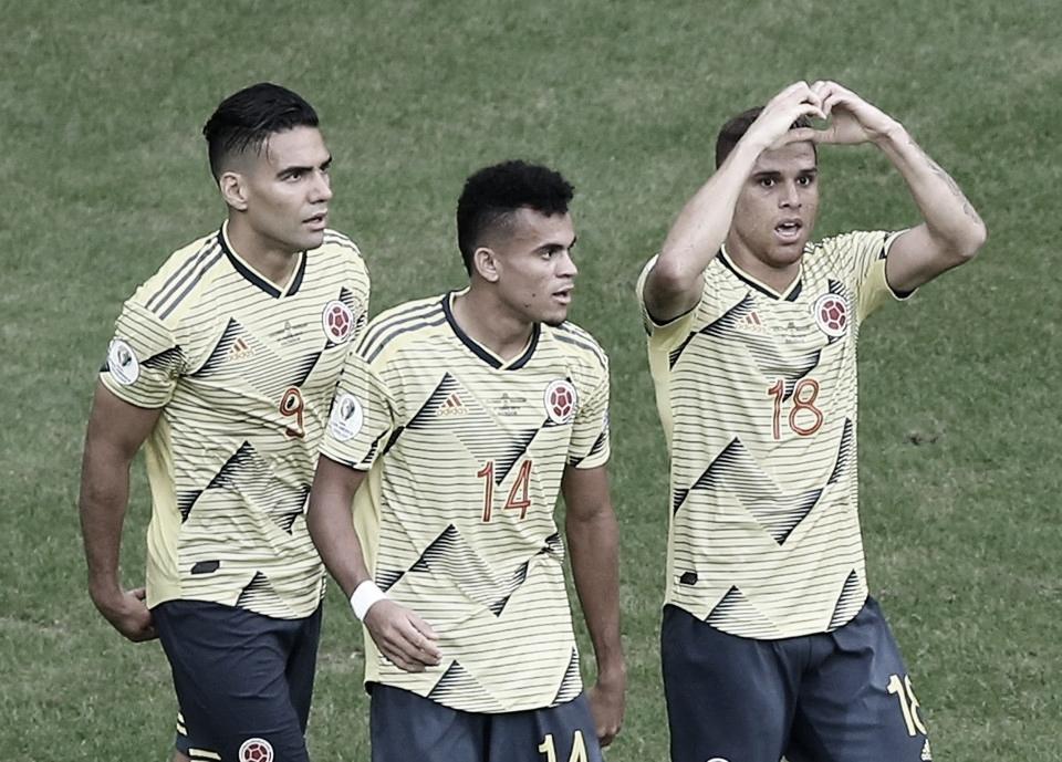 Colombia se ratifica como líder absoluto del grupo B tras derrotar a Paraguay