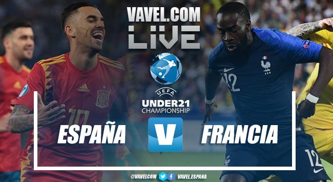 Resumen del España 4-1 Francia en el Europeo de Italia 2019