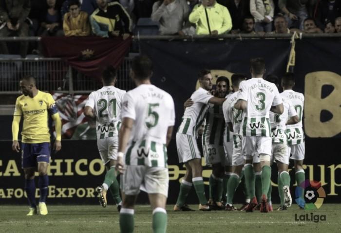 Previa Real Betis - Cádiz: cambiar la dinámica