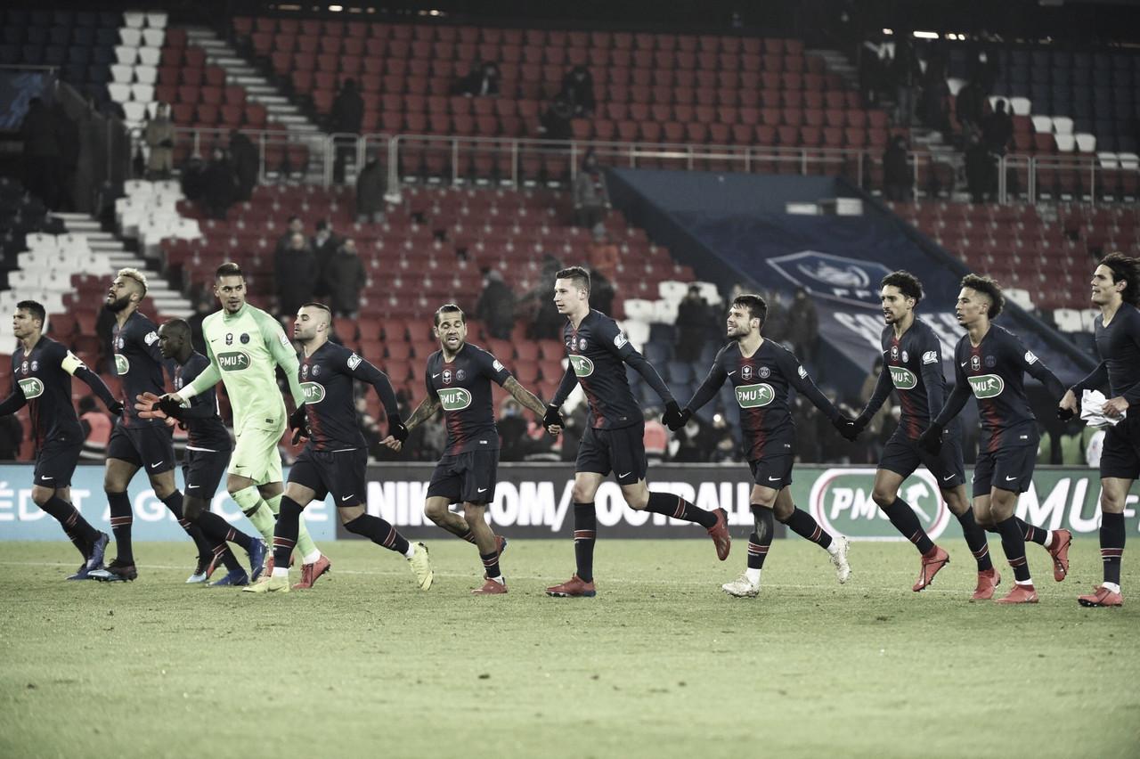 PSG avança na Copa da França, mas Neymar se lesiona