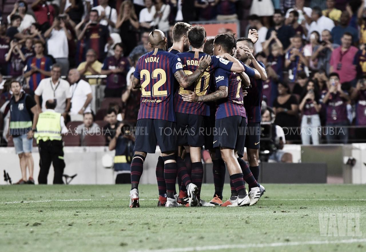 Resumen FC Barcelona 1-0 Levante UD en LaLiga Santander 2018