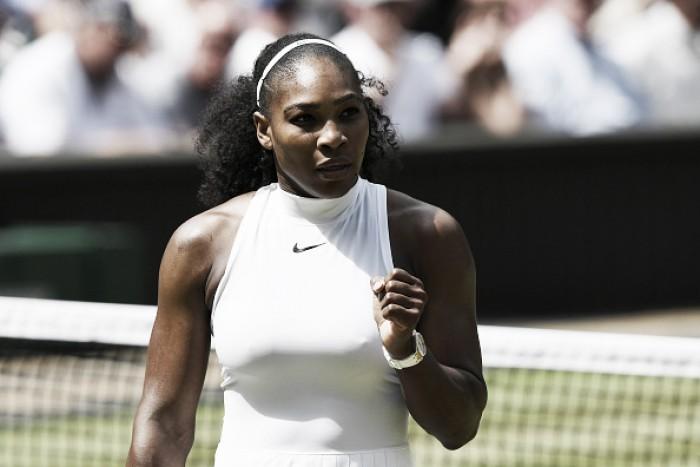 Serena Williams atropela Elena Vesnina e se garante na final de Wimbledon