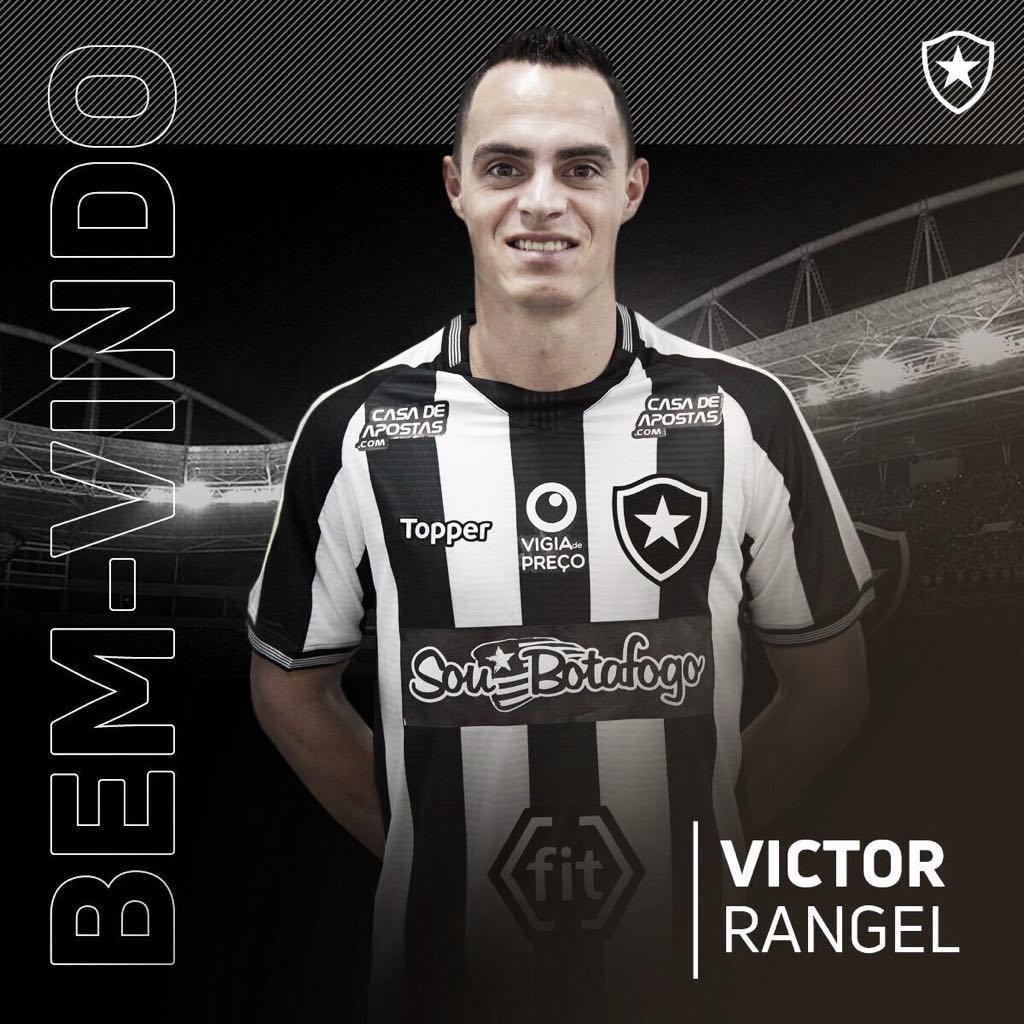 Victor Rangel é anunciado oficialmente pelo Botafogo para sequência do Brasileirão