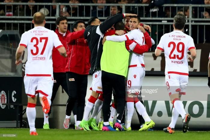 FC St. Pauli 1-2 1. FC Union Berlin: Eisern continue promotion march